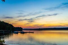 Sunset - The Boathouse @ Sunday Park  on Swift Creek Reservoir - Midlothian, VA (Paul Diming) Tags: midlothianvirginia v1 lake landscape sunset sunsets n1v1 virginia swiftcreekreservoir pauldiming pamdiming pam fall midlothian dailyphoto unitedstates us