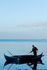 The fisherman (lautxi) Tags: filipinas fisherman thephilippines pescador dawn barca blue siquijor bangkaboat boat