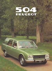 1979 Peugeot 504 (Hugo-90) Tags: peugeot car auto voiture ads advertising brochure automobile 1979 504 station wagon