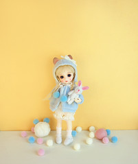 Kitty BeBe Buu (Dotories) Tags: mudoll tinybjd 18bjd kittybjd glib asianballjointeddoll