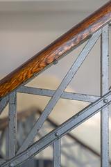 staircase -5- (MAICN) Tags: 2018 treppenhaus geländer architektur geometrisch lines handrail staircase architecture handlauf linien norderney geometry balustrade
