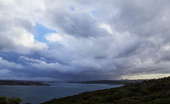 Storm over Sydney (LSydney) Tags: clouds storm sydney northhead