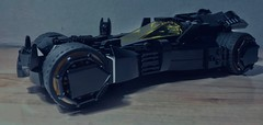 Batmobile - Side (Supremedalekdunn') Tags: lego batman batmobile dc comics stories group supremedalekdunn afterburner armour plating cowl cape bruce wayne