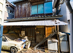 #154 Abandoned (tokyobogue) Tags: tokyo japan ukimafunado nikon nikond7100 d7100 tamron tamron1024mmdiiivc abandoned derelict old house 365project