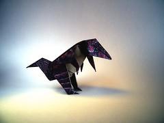 TRex - Oriol Esteve (Rui.Roda) Tags: origami papiroflexia papierfalten dinosaur dinossauro dinosaurio trex oriol esteve