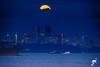Moon over Shangri-La (Keylight1) Tags: fujifilm keylight mjk vancouverbc xt20 fullmoon shangrilahotel bluehour