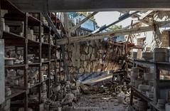 Comme un éléphant dans un magasin de porcelaine... (steflgs) Tags: usine patrimoine abandonedfactory porcelain porcelaine decay ruines ruin rurex