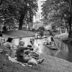 Picnic on Christ Church Meadow - A homage to Henri Cartier-Bresson's Picnic on the Banks of the Marne [1938] thumbnail