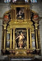 Astorga (León-España). Catedral. Capilla de San Juan Bautista. Retablo del XVII. Escultura realizada por Mateo del Prado (santi abella) Tags: astorga león castillayleón españa catedraldeastorga retablos