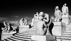 The Vigeland Sculpture Park (werner boehm *) Tags: thevigelandsculpturepark oslo norway wernerboehm