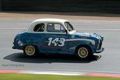 HRDC Austin A30 ({House} Photography) Tags: hrdc touring greats allstars 1960 pre classic car automotive race motor sport motorsport brands hatch uk kent fawkham panning canon 70d 70200 f4 housephotography timothyhouse austin a30 anthony reid