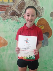 Texaco Art Competition Certificate- well done Sinead Farrell
