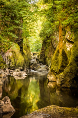 Fairy Glen 2 (Bogtramp) Tags: sun summer snowdonia landscape kitching north gorge colourful nikon kpkphotography wales uk sea