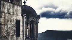 Ageing... (Constantinos_A) Tags: sony alpha a6300 church sky cloud weather wall cross mountain stgerasimos anotrikala view