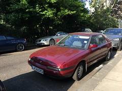 Mazda 323 GLXi ABS (auto) (VAGDave) Tags: mazda 323 glxi abs auto 1993