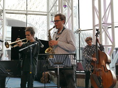Christos Stylianides Quintet. Jazzlines. 15th June '18. Symphony Hall, Birmingham, West Midlands. (Imagine Bill) Tags: joshschofield alto christosstylianides trumpet jazzlines birminghamjazz christosstylianidesquintet uk westmidlands