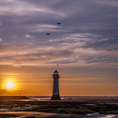 Chinook (in explore) (keithbellis) Tags: purple wallasey england united kingdom gb lighthouse fort perch rock new brighton river mersey landscape seascape sunset sea ocean sky water dusk helicopter chinook chopper