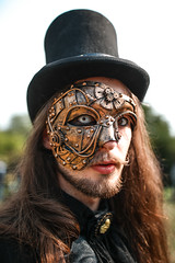 Steampunk Picknick (endorphin75) Tags: 2018 27 deutschland germany gothic gotik leipzig people picknick picnic portrait steampunk treffen wave wavegotiktreffen wgt
