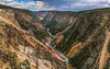 Yellowstone River Canyon (Cole Chase Photography) Tags: wyoming grandcanyonofyellowstone gorge canyon