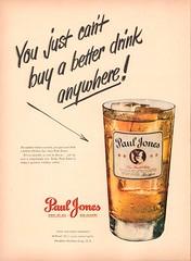 1950 Paul Jones Whiskey Advertisement Life Magazine March 27 1950 (SenseiAlan) Tags: 1950 paul jones whiskey advertisement life magazine march 27