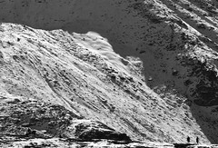 There's this slope to consider.. (draskd) Tags: himalayan himalaya himalayanlandscape monolandscape snowslope snow highaltitude minimalisticlandscape minimalism