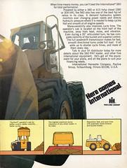 1978 International Harvester 560 PAY Loader Page 2 Aussie Original Magazine Advertisement (Darren Marlow) Tags: 1 4 7 8 9 19 78 1978 i international h harvester c construction e equipment t tractor trucks 4x4 x cars v vehicle a automobile u s us usa america american 70s