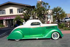1936 Ford (bballchico) Tags: 1936 ford chopped custom johnconley westcoastkustomscruisinnationals carshow santamariainn