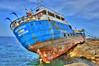Ship wreck (Majorimi) Tags: ship sea wreck hdr color nice shore rock disaster washed island malta mediterranean storm