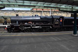 Ex-LMSR Stanier 'Jubilee' 45690