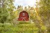 Red Barn (Naturali Images) Tags: red barn countryside sun ray rural
