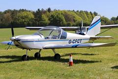 G-CFCT (GH@BHD) Tags: gcfct evektoraerotechnik evektor ev97 eurostar teameurostar pophamairfield pophammicrolighttradefair2018 microlight aircraft aviation
