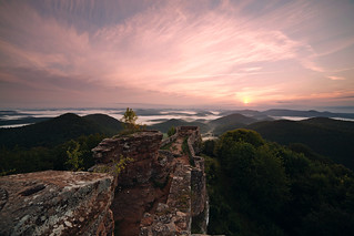 Sunrise over Wegelnburg