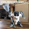 R&D Crusader Mech (Marco Marozzi) Tags: lego legodesign legomech moc mecha marco marozzi robot nexo knight bricks