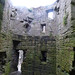 Beaumaris Castle - up the steps of an outer tower