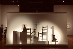 Afternoon at the museum (zia virgi) Tags: shadows chairs ombre sedie deyoungmemorialmuseum