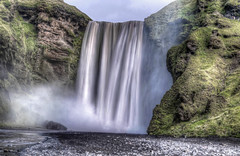 Skogafoss (Fil.ippo) Tags: skogafoss island iceland islanda waterfall cascata acqua water longexposure hdr d5000 nikon travel nature filippo filippobianchi power