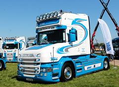BM Transport Ltd Scania T580 03MH8981 Peterborough Truckfest 2018 (davidseall) Tags: bm transport ltd scania vabis t580 v8 t cab 03mh8981 truck lorry tractor unit artic large heavy goods vehicle lgv hgv peterborough truckfest show may 2018