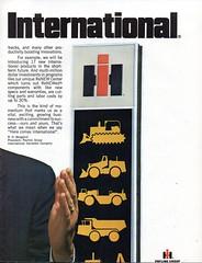 1978 International Harvester Tractors Trucks Construction Equipment Page 2 Aussie Original Magazine Advertisement (Darren Marlow) Tags: 1 7 8 9 19 78 1978 i international h harvester r road c construction e equipment t trucks cars 4 x 4x4 u s a us usa united states america american 70s