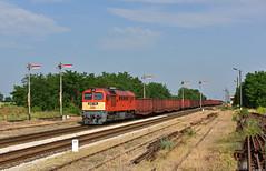 Börgönd (steffen_ffm_96) Tags: wumme formsignal freighttrain güterzug ungarn 628151 börgönd m62 taigatrommel