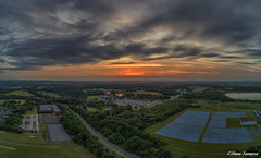 Sunset by drone (Steve Samosa Photography) Tags: dronecamera drone droneshot drones aerialview aerial aerialphotography sunset merseyside prescot knowsley england unitedkingdom gb