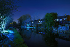 Wyley & Essington, Castle Bridge, Willenhall 10/03/2018 (Gary S. Crutchley) Tags: castle bridge wyrley essington canal willenhall uk great britain england united kingdom urban black country blackcountry west midlands westmidlands nikon d800 history heritage local night shot nightshot nightphoto nightphotograph image nightimage nightscape time after dark long exposure evening travel street slow shutter raw navigation cut inland waterway bcn narrowboat lock walsall junction and canalscape scape