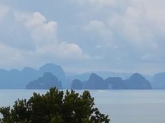 Thailand (terri-t) Tags: phangnga bay landscape scenic water sea rocks kohyaoyai nature phuket