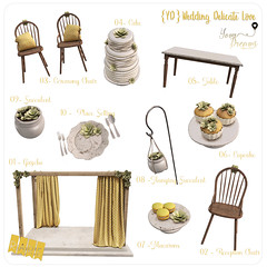{YD} Wedding Delicate Love ({Your Dreams}) Tags: yourdreams wedding gacha newdecoration succulent