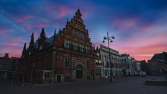 Frans Hals Museum (l.cutolo) Tags: slowshutterspeed cloudysky cloudy spring dhrlike cityscape flickr dutchscape worldtrekkerlucacutolo museum groetemarkt sonya7ii city longexposure oldbuilding netherlands stackphotos night spaarne tlp citylight water reflections franshals oldcity ncg dutch haarlem amazingsky bluehours sonyfe1635mmf28gm