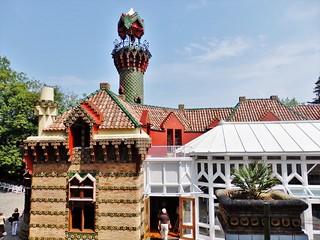 El Capricho de Gaudí en Comillas.-Cantabria