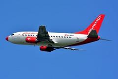 ZA-AWA Boeing 737-5K5 Albawings (LIL/LFQQ) (geoffrey.zdcki) Tags: zaawa albania albawings lil departure lfqq lilleairport spotting spotter lille