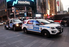 NYPD Wrecker & Critical Response Command Ford Police Interceptor SUV (MJ_100) Tags: emergencyvehicle emergencyservices timessquare nypd police cops policecar copcar traffic nypdtraffic ford policeinterceptor suv wrecker towtruck criticalresponsecommand crc