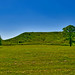 East View of 'Monks Mound' -- Cahokia Mounds State Historic Site near Collinsville