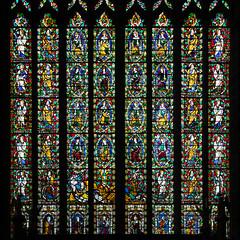St Mary's Church | Shrewsbury-50 (Paul Dykes) Tags: shrewsbury shropshire uk gb unitedkingdom stmaryschurch religiousbuilding church mediaevalstainedglass medievalstainedglass