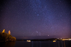 Taupo Sky (PJ Reading) Tags: newzealand nz landofthelongwhitecloud longwhitecloud pretty nature natural country autumn day taupo beauty water waterway night evening cold milkyway lake